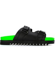 Dsquared2 Fluo Sole Sandals Black