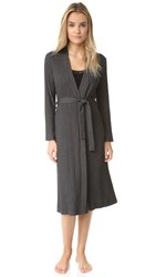 Only Hearts Club Wide Wale Rib Robe Charcoal
