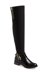 N.Y.L.A. 'Bethanie' Over The Knee Boot Women Black