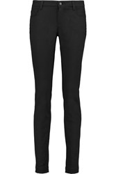 Dolce And Gabbana Mid Rise Skinny Jeans Black
