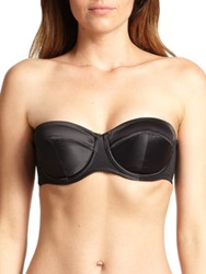 Agent Provocateur Penelope Padded Strapless Bra Nude Black