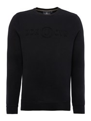 Duck And Cover Wirral Crew Neck Sweatshirt Black