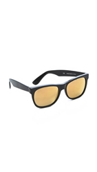 Super Sunglasses Basic Sunglasses Black Gold
