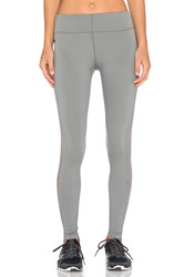 James Perse Yosemite Side Stripe Yoga Pant Gray