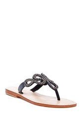 Mystique Embellished Sandal Black
