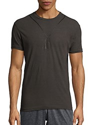 Dsquared Dog Tag Tee Grey