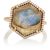 Irene Neuwirth Women's Mixed Gemstone Hexagonal Faced Ring Brown Gold No Color Brown Gold No Color
