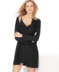 Calvin Klein Essentials Robe S2454 Black