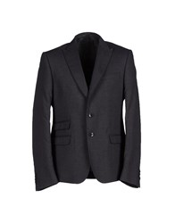 Fdn Suits And Jackets Blazers Men Steel Grey