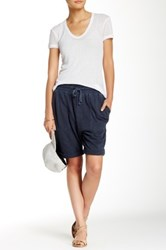 James Perse Slouch Sweatshort Blue