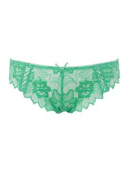 Lepel Fiore Thong Green