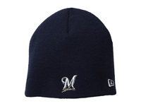 New Era My First Knit Milwaukee Brewers Team Infant Navy Caps