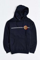 Santa Cruz Classic Dot Hooded Sweatshirt Navy