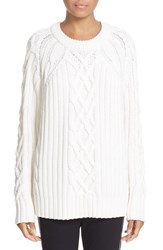 Rag And Bone Women's 'Kiera' Cable Knit Crewneck Sweater