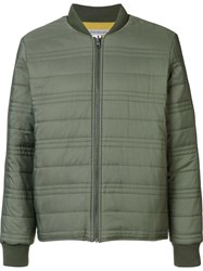 Outerknown Zip Up Sport Jacket Green
