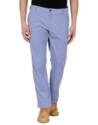 Faconnable Casual Pants Pastel Blue