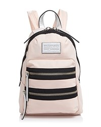Marc By Marc Jacobs Domo Arigato Mini Packrat Color Block Backpack Pearl Blush Multi