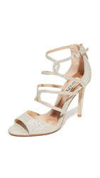 Badgley Mischka Devon Sandals Platino