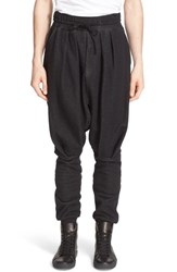 Drifter Men's 'Raiden Hakama' Knit Drop Crotch Pants