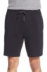 Men's Boss 'Nos' Stretch Cotton Lounge Shorts Black