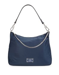 Karl Lagerfeld Nylon Hobo Bag Navy