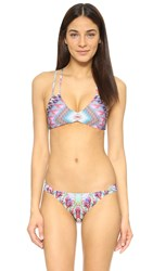 Pilyq Belize Reversible Utopia Halter Top Multi