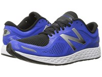 New Balance Fresh Foam Zante V2 Team Blue Silver Men's Running Shoes Navy