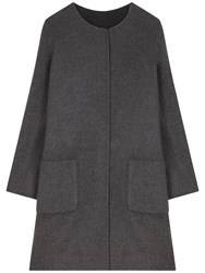 Gerard Darel Flocon Coat Grey