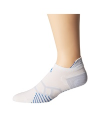 Adidas Energy Running Single Tabbed No Show White Bright Royal Pearl Opal No Show Socks Shoes