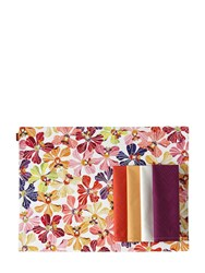 Missoni By Richard Ginori 1735 Flowers Collection Set Of 2 Placemats