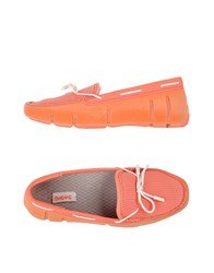 Swims Footwear Moccasins Women Salmon Pink