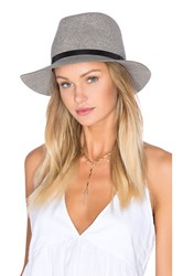 Rag And Bone Wide Brim Fedora Gray