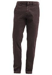 7 For All Mankind Chinos Moleskwin Dark Red
