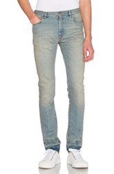 Maison Martin Margiela Stonewashed Skinny Fit Jeans In Blue