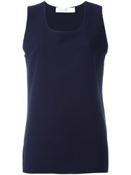 Victoria Beckham Sleeveless Top Blue