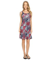 Columbia Freezer Iii Dress Bright Geranium Dot Floral Women's Dress Multi