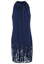 S.Oliver Cocktail Dress Party Dress Pussian Blue Dark Blue