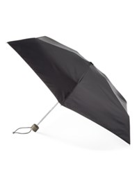 Totes Titan Auto Open Close Small Umbrella Black