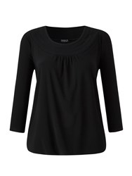 Grace Made In Britain Tunic Top Black
