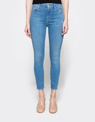 Mother High Waisted Looker Crop Chill