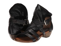 Miz Mooz Cassidy Black Women's Sandals