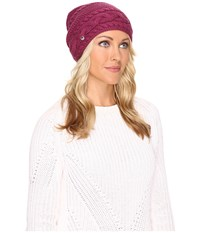 Ugg Cable Oversized Beanie Bougainvillea Multi Cold Weather Hats Purple