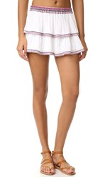 Thayer Mini Beach Skirt Embroidered
