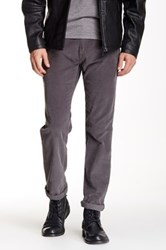 14Th And Union Straight Leg Corduroy Pant Gray