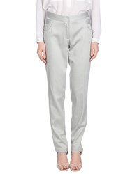 Hoss Intropia Trousers Casual Trousers Women Light Grey