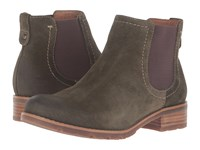 Sofft Selby Olive Alaska Cow Suede Women's Boots Brown