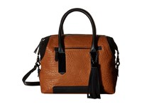 French Connection Camden Satchel Nutmeg Black Satchel Handbags Brown