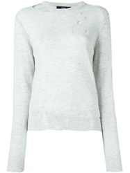 Diesel 'Mind' Pullover Nude And Neutrals