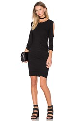 Pam And Gela Cold Shoulder Dress Black