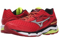 Mizuno Wave Inspire 12 Chinese Red Silver Safety Yellow Men's Running Shoes